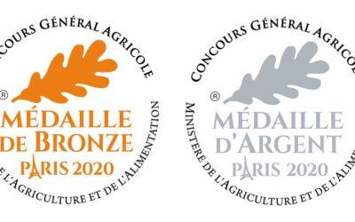 le 24/02/2020 – 2 nouvelles Médailles